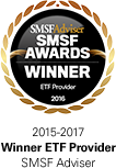 SMSF Adviser - Winner ETF Provider 2015-2017