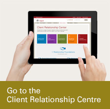 Go to the Client Relationship Centre