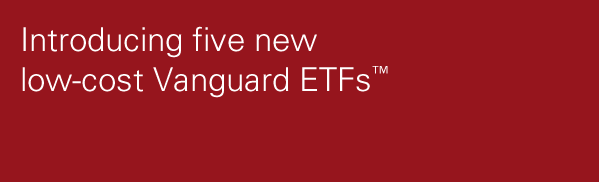 New low-cost ETFs