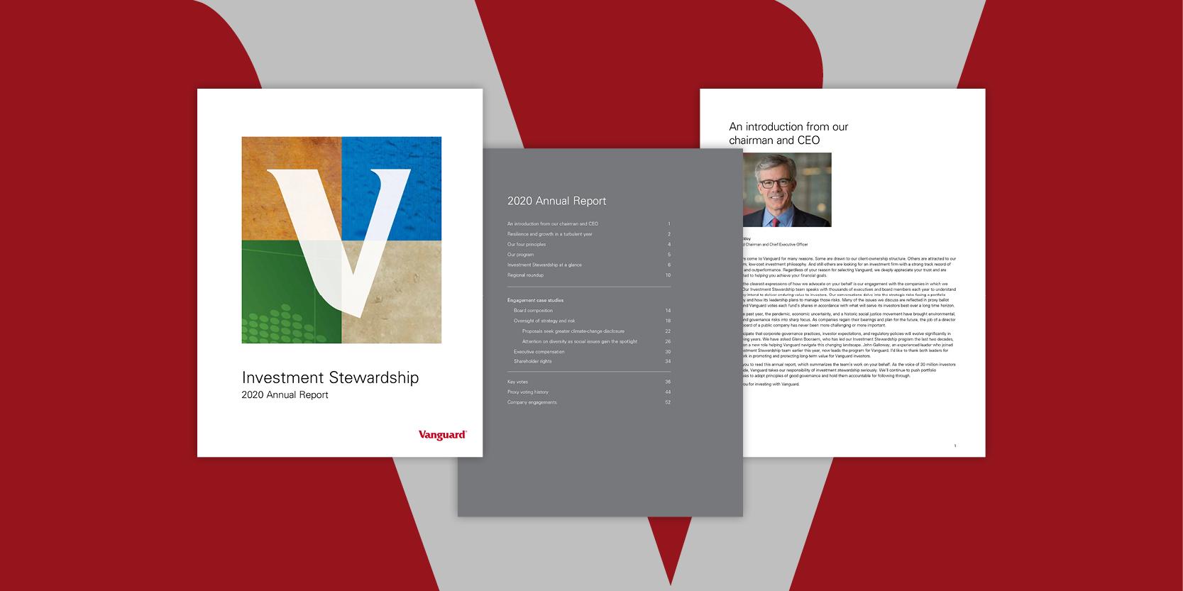 How Vanguard advocates on behalf of investors