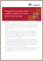 Vanguard's comprehensive global economic and market outlook