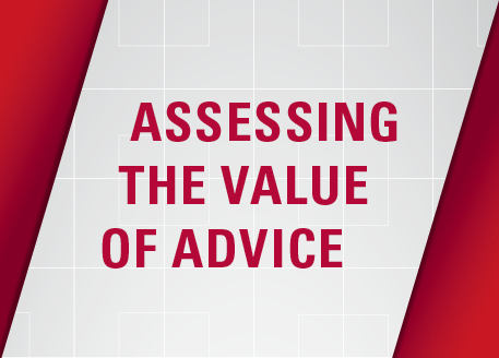 Assessing the value of advice
