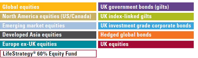 Vanguard LifeStrategy 60% Equity Fund rankings and returns key