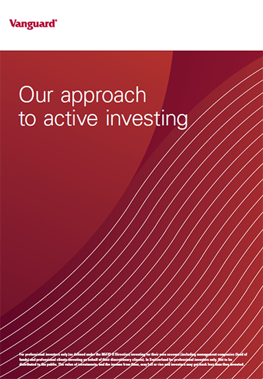 our approach to active investing