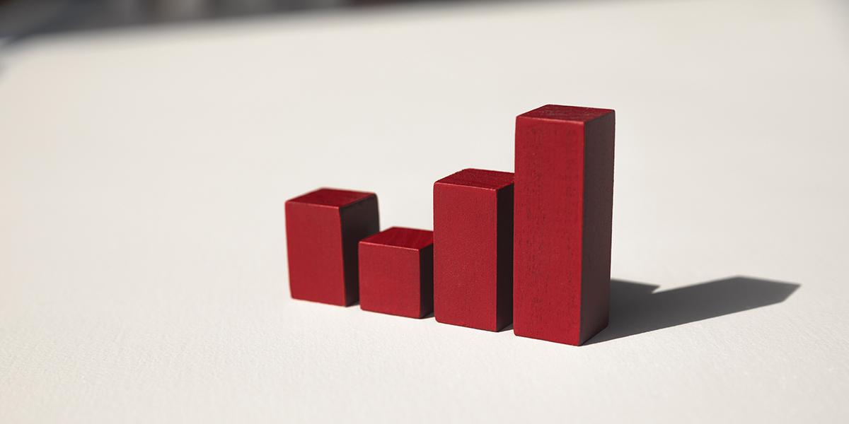 Red block stacks